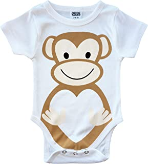 Monkey Biz - Funny Baby Bodysuit, Clothes with Monkeys, Cute Baby Gifts