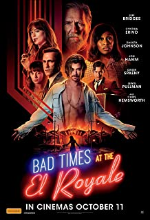 Best bad times at the el royale poster Reviews