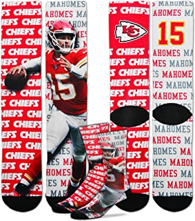 Say My Name NFL Player Sublimation Men's Crew Socks