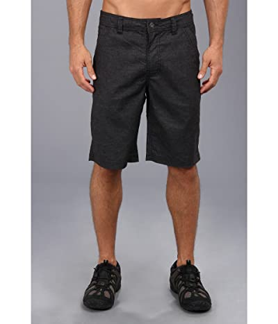 Prana Furrow 11 Short (Black) Men