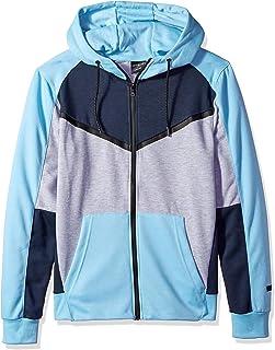WT02 Mens Fleece Zip Sweater