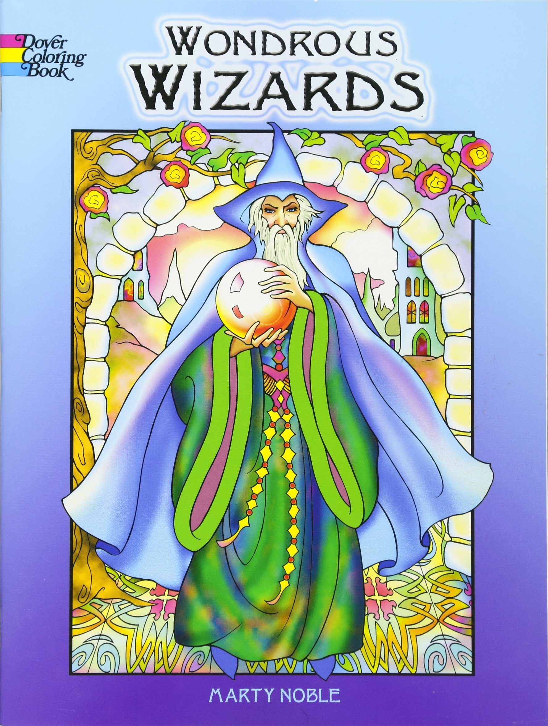 - Wondrous Wizards (Dover Coloring Books) - Buy Online In Bahrain