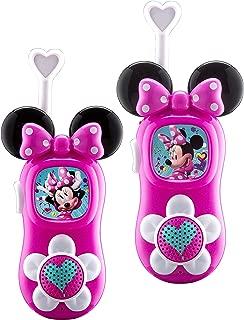 minnie mouse walkie talkies pink