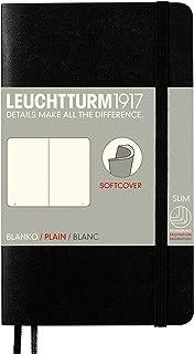 LEUCHTTURM1917(ロイヒトトゥルム) A6 無地ノート ソフトカバー ブラック