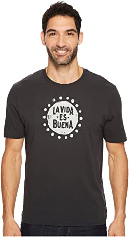 Life is Good - La Vida Es Buena Smooth Tee