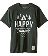 The Original Retro Brand Kids - Happy Camper Short Sleeve Tee (Little Kids/Big Kids)