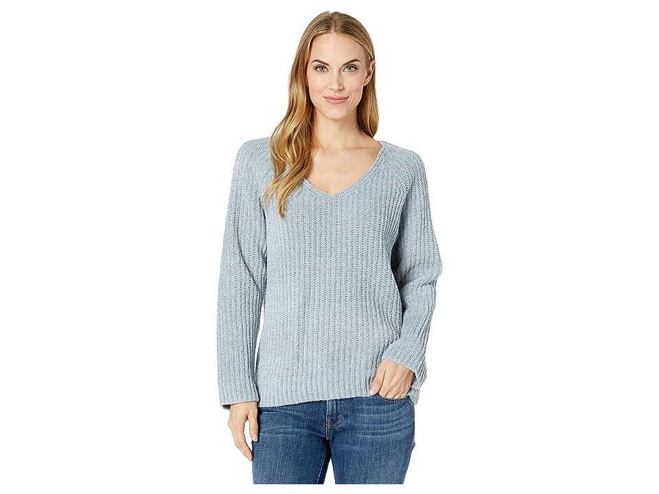 Lucky Brand Chenille Sweater (Citadel) Women