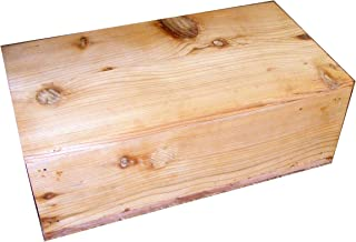 Steve's Gift Shoppe Pet Coffin Casket for Cats or Small Dogs 18 x 10 x 6.25 Inches - U Build It D.I.Y. Kit