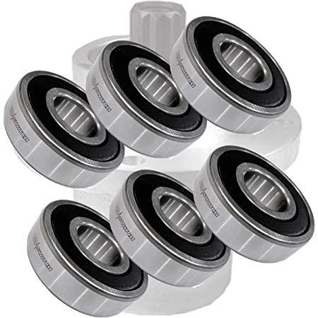 110082 833210 Replacement 4 Pack Spindle Bearings 110081 Grasshopper 110080