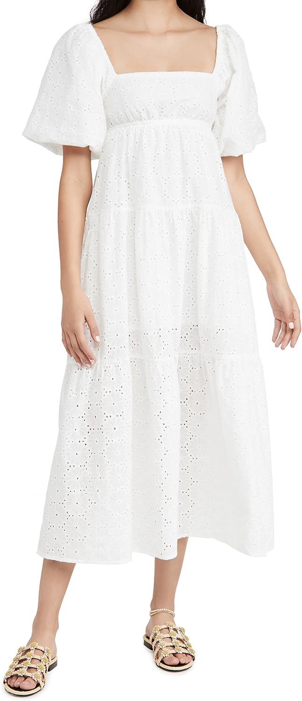 MINKPINK Women's Luna Dress 誕生日プレゼント Smock SALE Maxi