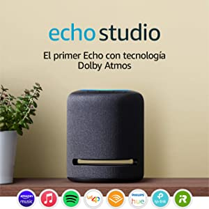 Echo Studio - Altavoz inteligente con sonido de alta fidelidad y Alexa