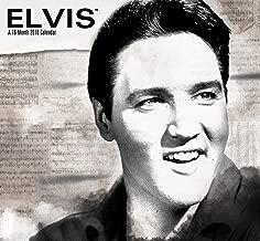 Elvis Presley Mini Wall Calendar (2016)