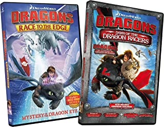 Dragons Race to the Edge: Mystery Of The Dragon Eye / Dragons Dawn of the Dragon Racers (2-Pack)