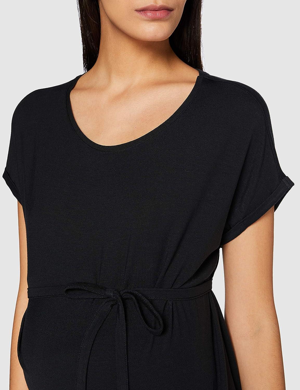 MAMALICIOUS Damen Mlamsterdam S//S Jersey T-Shirt A Top