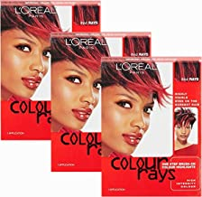 L'oreal Paris Colour Rays Hair Color, Red Rays (Pack of 3)