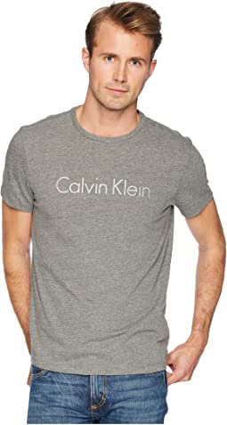 Space Dyed Calvin Klein Logo Jersey Tee - Seasonal