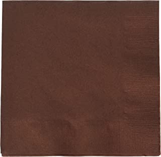Chocolate Brown 2-Ply Luncheon Napkins | Pack of 50 | Party Supply