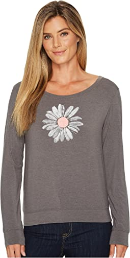Life is Good - Daisy Supreme Scoop Pullover