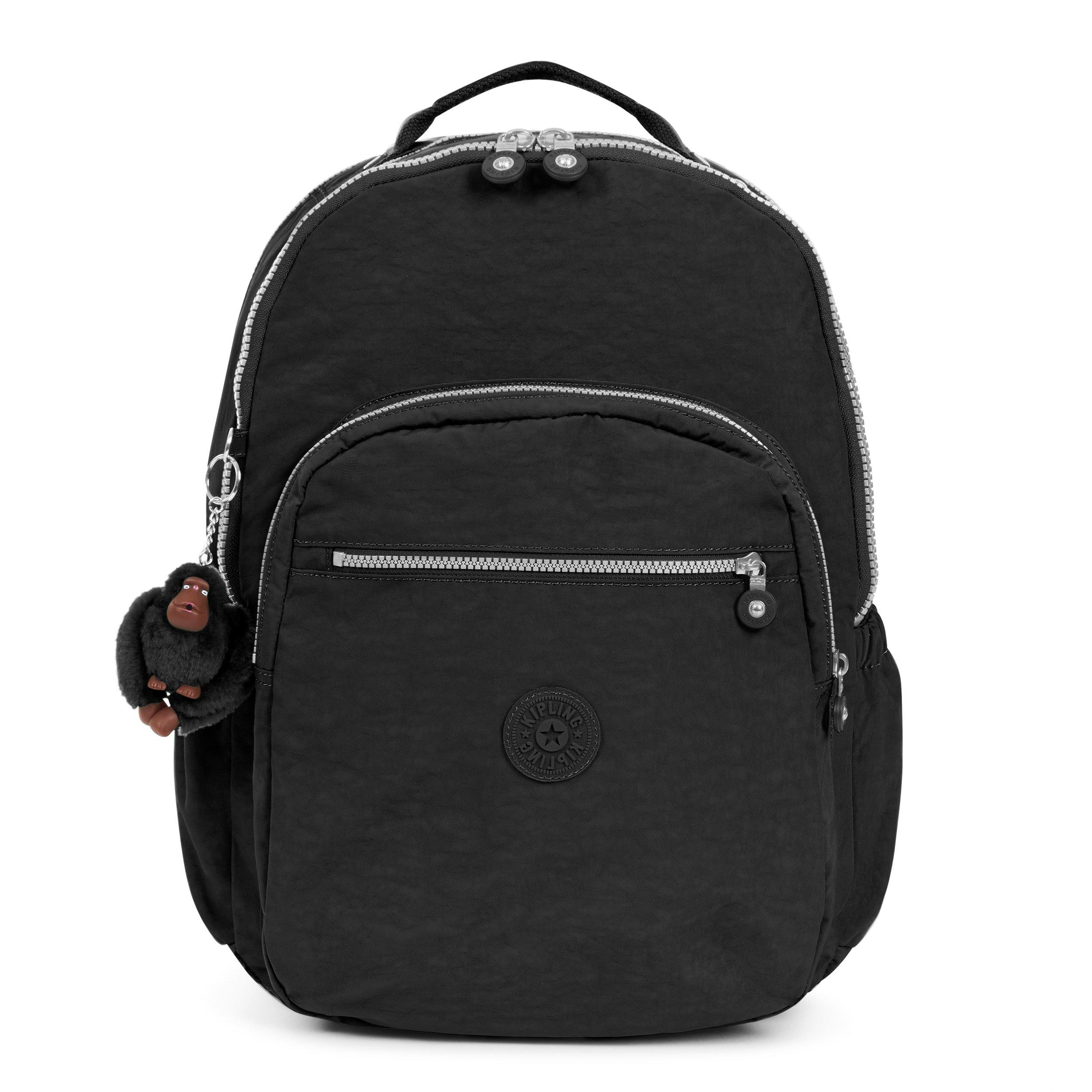 891547491 Kipling Seoul Go Laptop, Padded, Adjustable Backpack Straps, Zip Closure