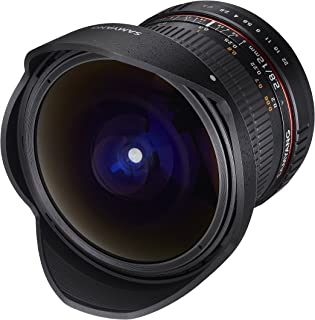 Samyang 12mm F2.8 Ultra Wide Fisheye Lens for Sony E Mount Interchangeable Lens Cameras (NEX) - Full Frame Compatible