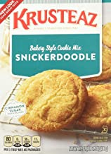 Krusteaz Snickerdoodle Cookie Mix, 17.5-Ounce Boxes (Pack of 2)
