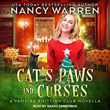 Cat's Paws and Curses: A Vampire Knitting Club Novella, Book 8.5