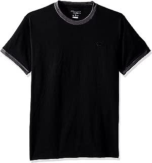 Champion Mens T0220 Classic Jersey Ringer Tee Short Sleeve Shirt