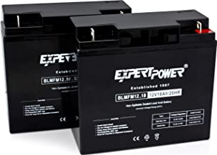 ExpertPower EXP12180-2 lead_acid_battery, 2 Pack
