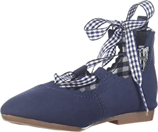 OshKosh B'Gosh Kids Bianca Girl's Lace-Up Flat Ballet
