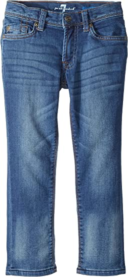 7 For All Mankind Kids Slimmy Jeans in Heritage Blue (Little Kids/Big Kids)