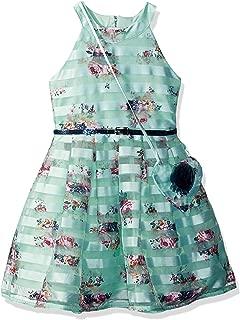 Beautees Girls' Halter Skater Dress