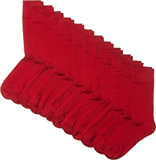 Amazon Brand – Hikaro Men's Socks, Pack of 12 (formerly MyWay brand)