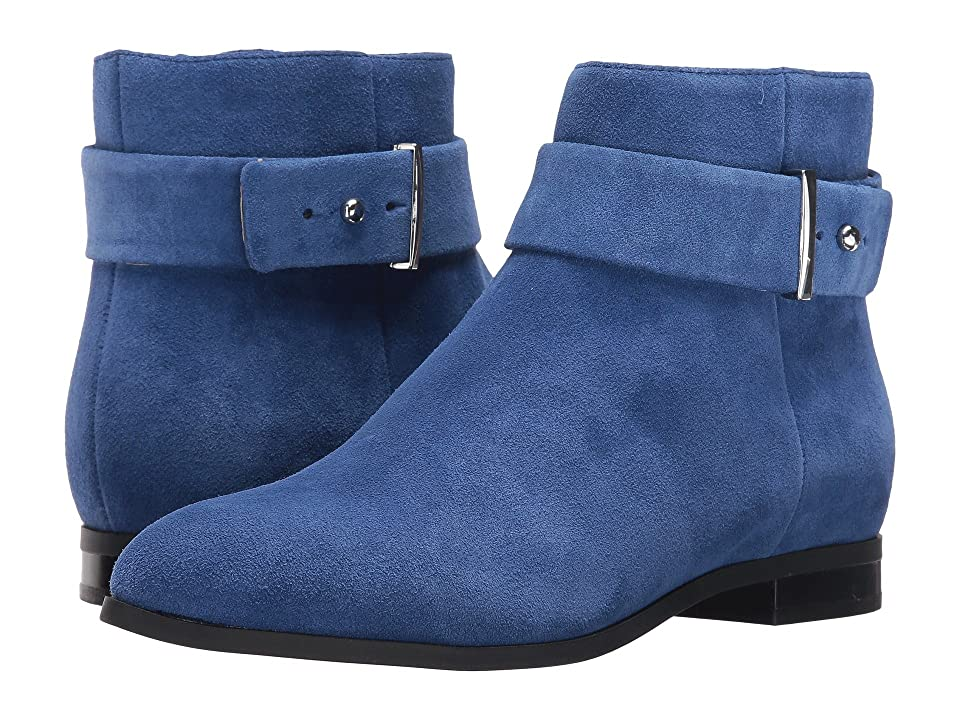Nine West Objective (Navy Suede) Women