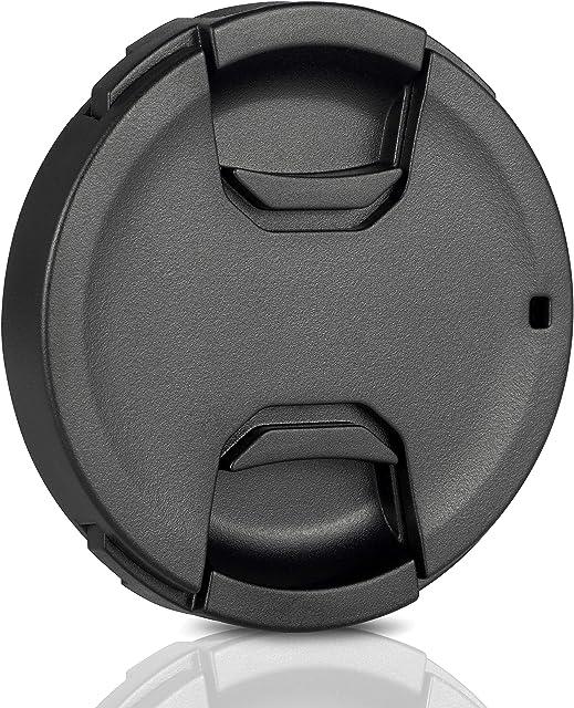 Ares Foto® 49mm Lens Cap • Tapa de la lente • Tapa de objetivo. Hecho de 100% de plástico reciclado. Sujeción estable de la lente. Para Canon Sony Nikon Sigma Tamrom Olympus Fujifilm Samsung Pentax