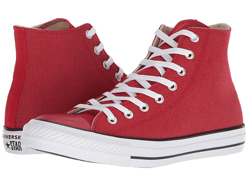Converse Chuck Taylor(r) All Star(r) Hi Court Ripstop (Gym Red/Black/White) Classic Shoes