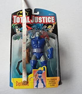 JLA Total Justice Darkseid 1996 Action figure - with Omega Capture Claw by Kenner
