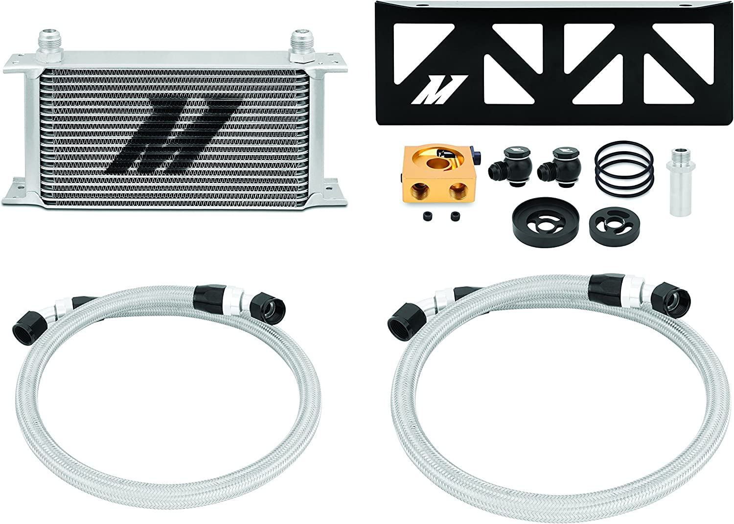 Mishimoto MMOC-BRZ-13T Oil Cooler Kit Compatible Thermostatic Ultra-Cheap Deals NEW Wi