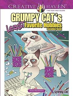 Creative Haven Grumpy Cat's Least Favorite Hobbies Coloring Book (Creative Haven Coloring Books)