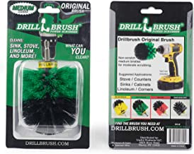 Kitchen Sinks,Stoves, Linoleum,Corners and All Purpose Scrub Brush for Use with Cordless Drill