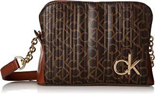 Calvin Klein Paige Quilted Signature Crossbody