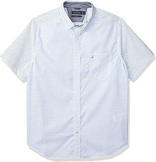 Nautica Men's Classic Fit Windowpane Shirt