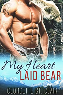 Blue Moon Shifters: My Heart Laid Bear (A BBW Paranormal Romance) (Blue Moon Junction Book 4)