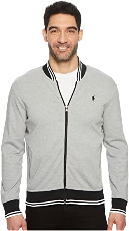 Polo Ralph Lauren Interlock Long Sleeve Knit Jacket