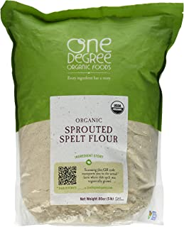 Organic Sprouted Spelt Flour, 80oz (5 lb)
