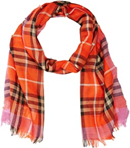 Burberry Kids Check Scarf