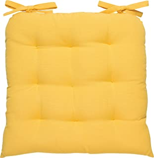 Best yellow chair cushion Reviews