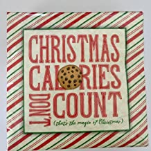 Hoffmaster Christmas Calories Beverage Napkins