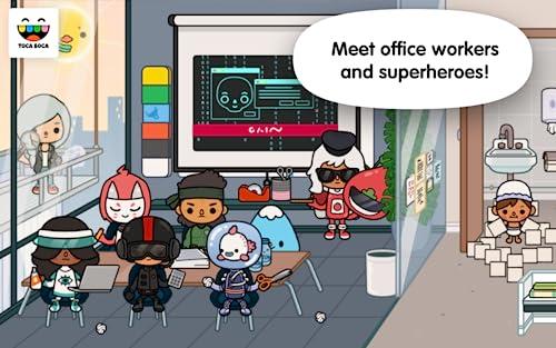 『Toca Life: Office』の5枚目の画像