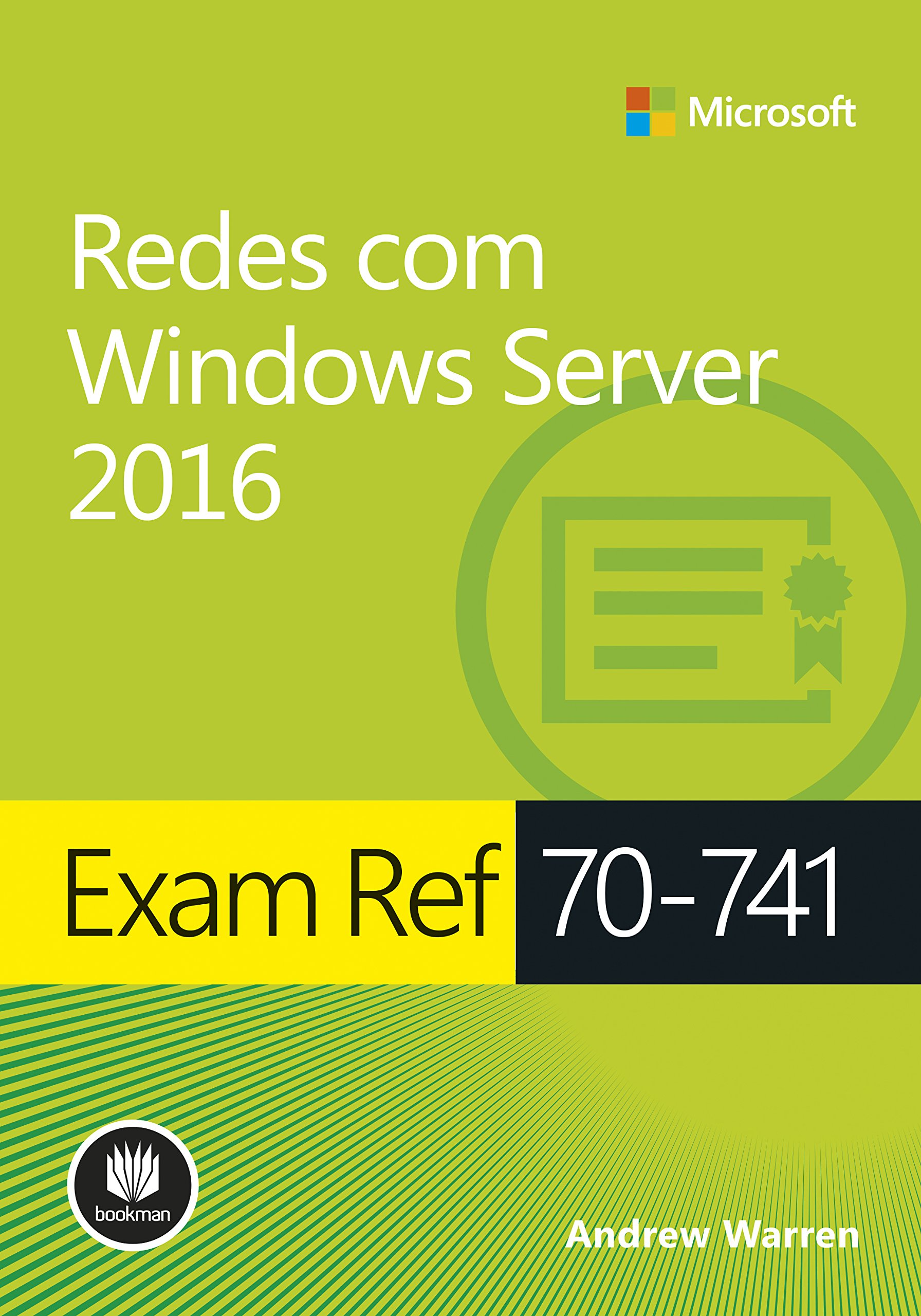 Image OfExam Ref 70-741 - Redes Com Windows Server 2016 - Série Microsoft (Portuguese Edition)