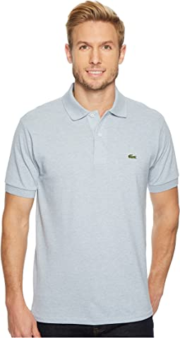 Lacoste s s pique silver croc polo dark kelly green  2817f4ba3f82